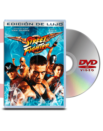 DVD Street Fighter La película