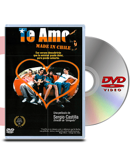 DVD Te Amo Made In Chile