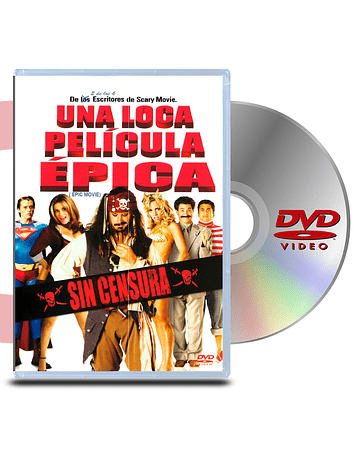 DVD Una Loca pelicula epica