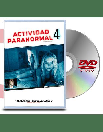 DVD Actividad Paranormal 4