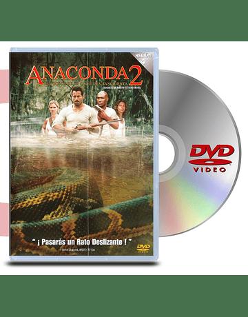 DVD Anaconda 2 En busca de la orqudea sangriente