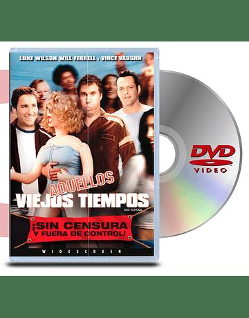 DVD Aquellos Viejos Tiempos