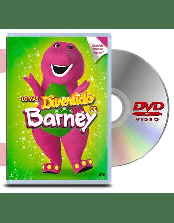DVD Barney Lo mas divertido de Barney