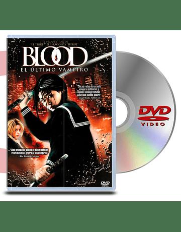 DVD Blood: El Ultimo Vampiro