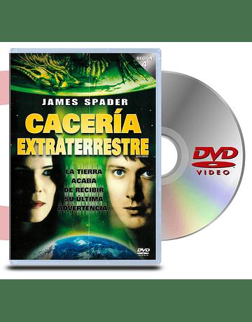 DVD Caceria Extraterrestre