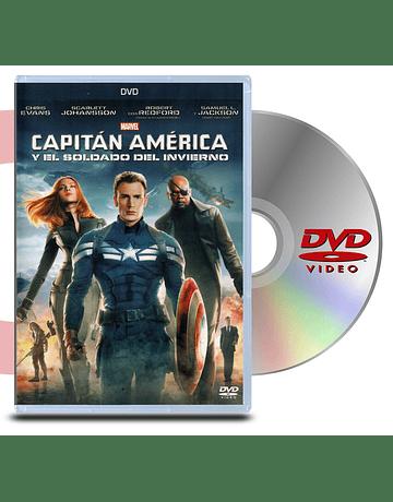 DVD Capitan America y el Soldado Del Invierno