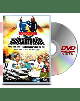 DVD Colo - Colo Tricampeon
