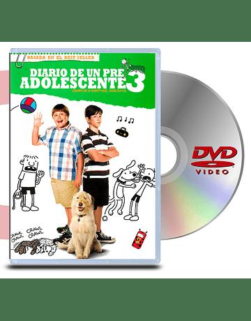 DVD Diario de un Pre Adolescente 3