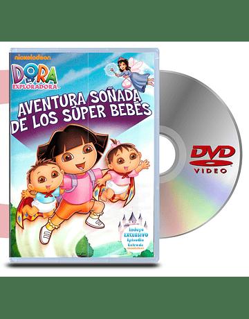 DVD Dora La Exploradora: Aventura Soñada De Los Super Bebes