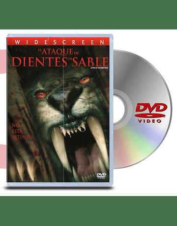 DVD El Ataque de Dientes de Sable