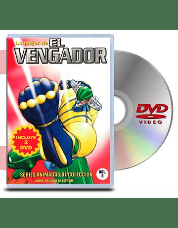 DVD El Vengador (Kotetsu Jeeg - 2 Discos)