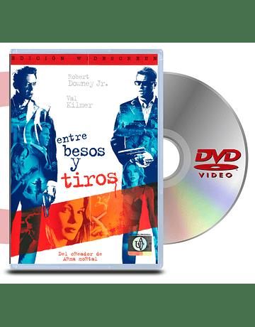 DVD Entre Besos y Tiros