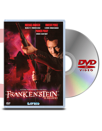 DVD Frankenstein: El Regreso