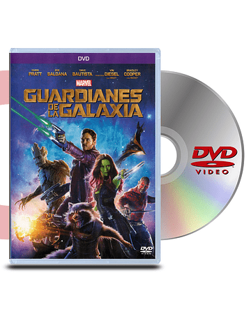 DVD Guardianes De La Galaxia 1