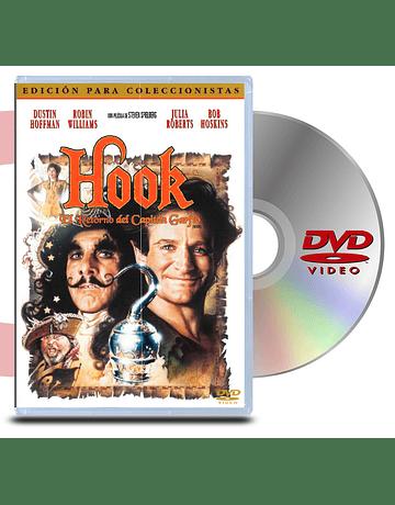 DVD Hook: El Retorno del Capitan