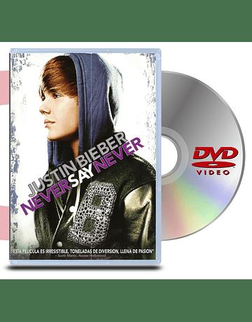 DVD Justin Bieber: Never Say