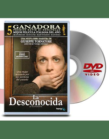 DVD La Desconocida