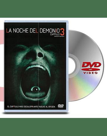 DVD La noche del demonio capitulo 3