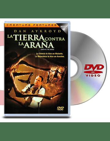DVD La Tierra Contra la Araña