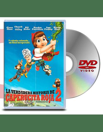 DVD La Verdadera historia de la Caperucita Roja 2