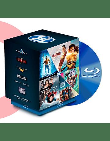 BLU RAY PACK DC HEROES