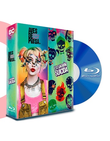 BLU RAY PACK HARLEY QUINN - AVES DE PRESA + SUICIDE SQUAD