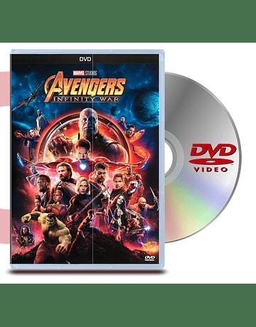 DVD Avengers: Infinity War
