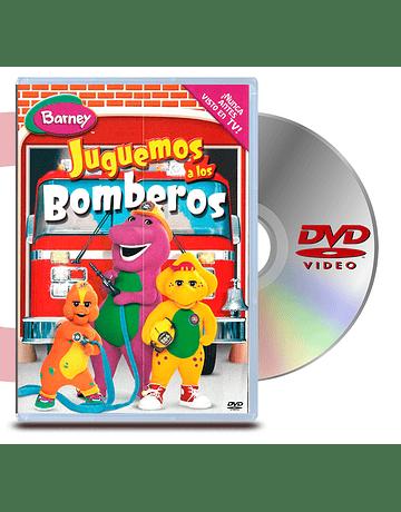 DVD Barney: Juguemos A Los Bomberos