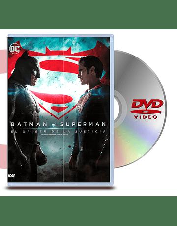 DVD Batman Vs Superman: El Origen De La Justicia