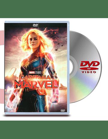 DVD Capitana Marvel