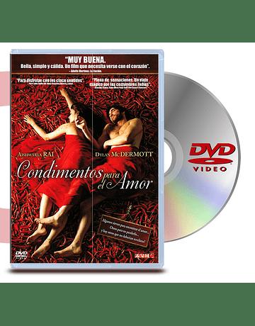 DVD Condimentos Para El Amor