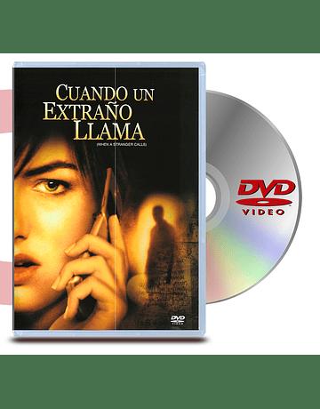 DVD Cuando Un Extraño Llama