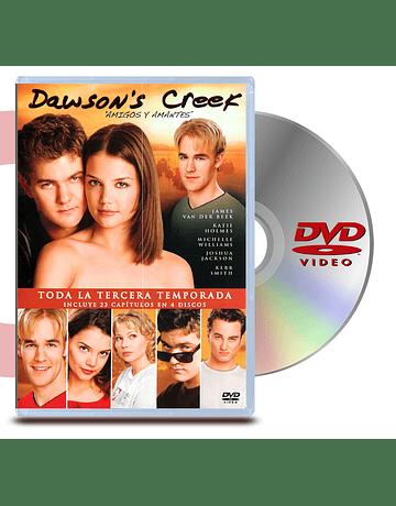 DVD Dawsons Creek: Temp.3