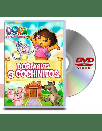 DVD Dora La Exploradora: Y Los Tres Chanchitos