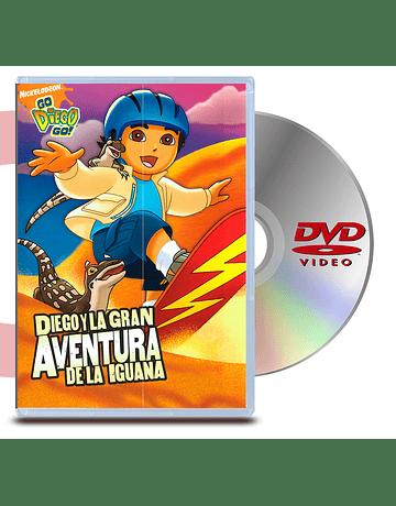 DVD Go Diego Go: La Gran Aventura De La Iguana