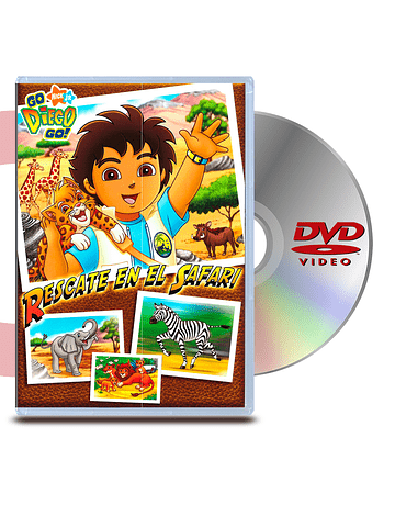 DVD Go Diego Go: Rescate En El Safari