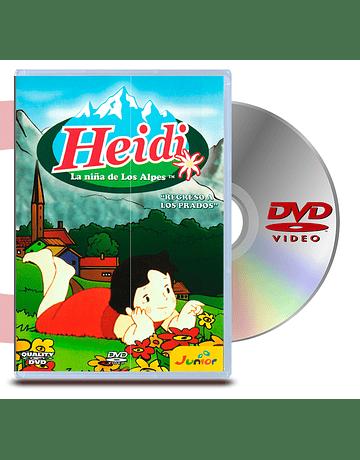 DVD Heidi Regreso a los Prados