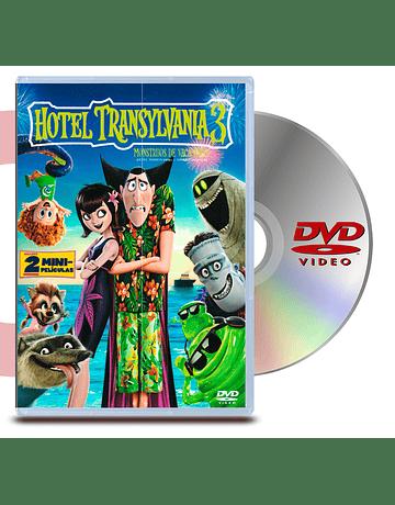 DVD Hotel Transylvania 3 Monstruos De Vacaciones
