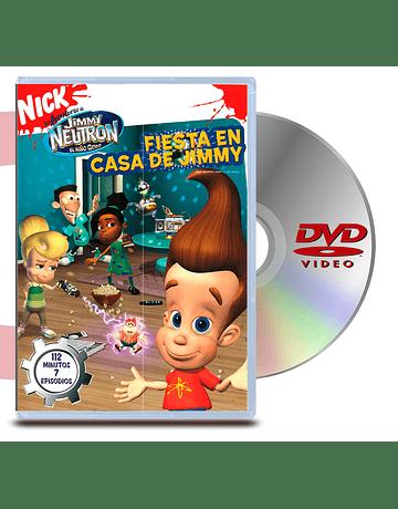 DVD Jimmy Neutron: Fiesta En Casa de Jimmy
