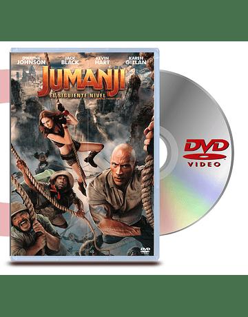 DVD Jumanji:  El Siguiente Nivel
