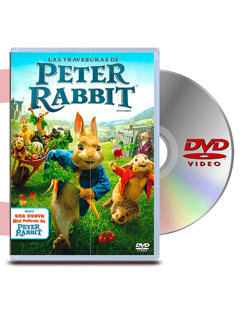 DVD Las Travesuras De Peter Rabbit