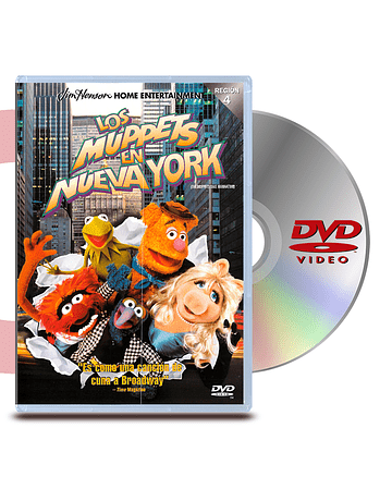 DVD Los Muppets En Nueva York