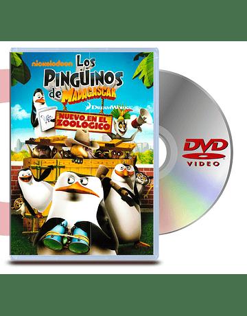 DVD Los Pinguinos De Madagascar: Nuevo En El Zoologico