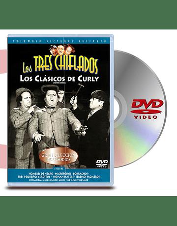 DVD Los Tres Chiflados