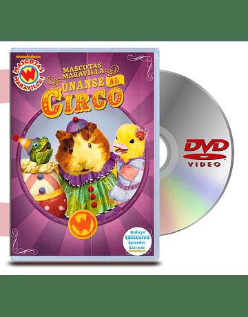 DVD Mascotas Maravillas: Unanse Al Circo