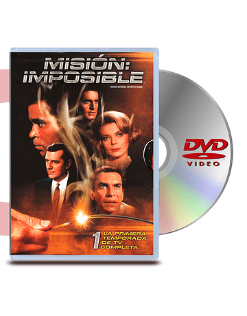 DVD Mision Imposible: Temp.1