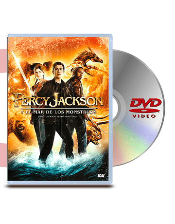 DVD Percy Jackson Y El Mar De Los Monstruos
