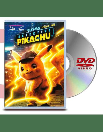 DVD Pokemon: Detective Pikachu