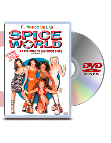 DVD Spice World