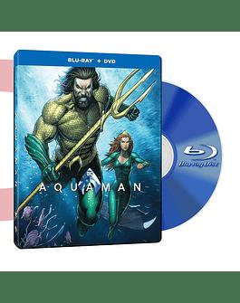 Steel Book Blu Ray Aquaman BD+DVD